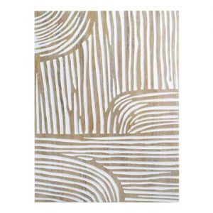 Abstract Carved Wall Decor