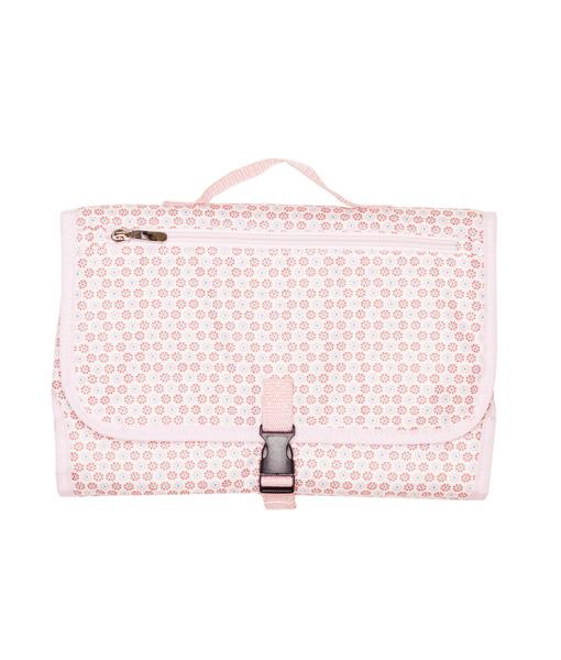 Gingerlilly Baby Change Mat Pink Design