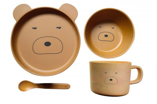 Bamboo Ware Kids Dining Set