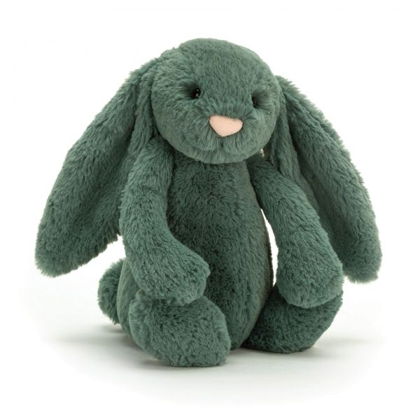 Jellycat Bashful Bunny Forest Green