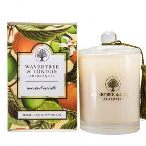 Basil Lime & Mandarin Candle