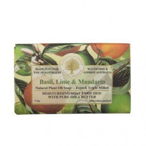 Basil Lime & Mandarin Soap