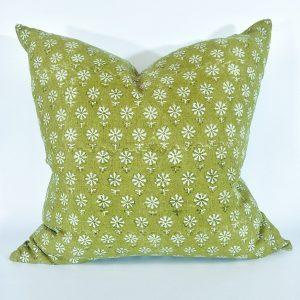 Bruges Pista Artisan Block Printed Cushion