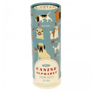 Canine Alphabet 300 Piece Puzzle In Tube