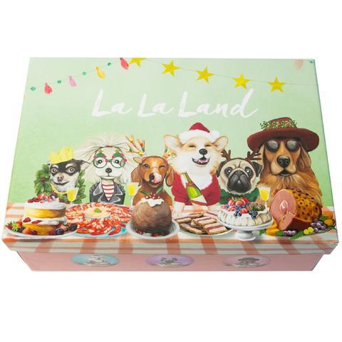La La Land Canine Christmas Bauble Set
