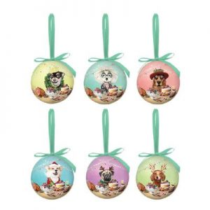 La La Land Canine Christmas Bauble Set