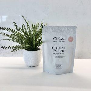 Olieve & Olie Body Scrub Latte Chai