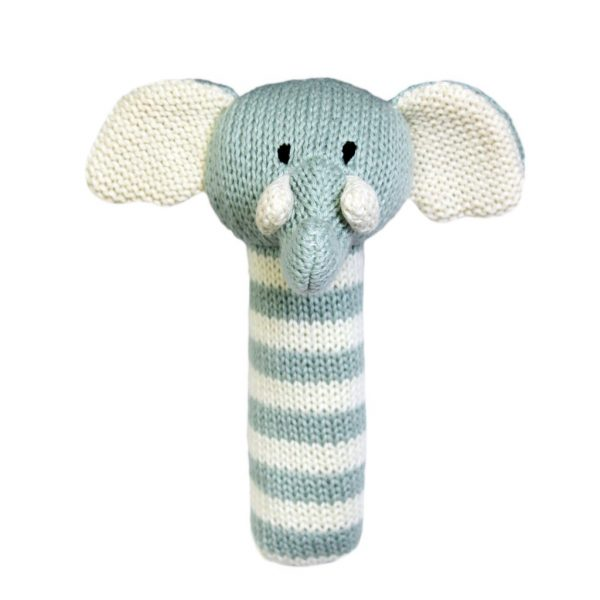 Charlie Elephant Stick Rattle Lily & George