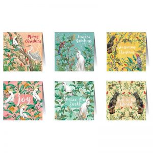 La La Land Christmas Chinoiserie Card Set