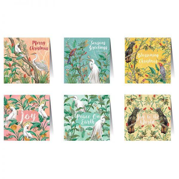 La La Land Christmas Chinoiserie Card Set