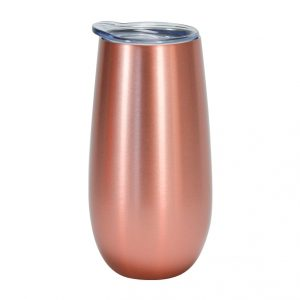 Rose Gold Sparking Flute Double Walled Stainless steel Annabel Trends
