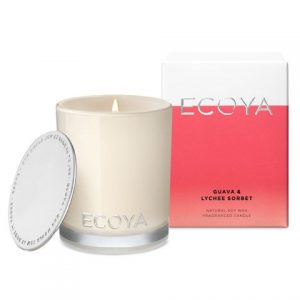 Ecoya Guava & Lychee Sorbet Candle Large