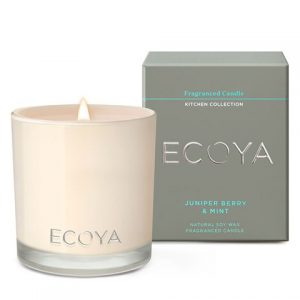 Ecoya Kitchen Collection Juniper Berry & Mint Candle
