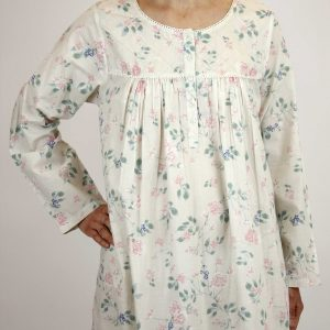 French Country Nightie rose trellis East Gosford