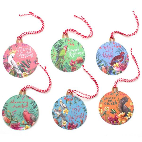 La La Land Floral Paradiso Gift Tag Christmas