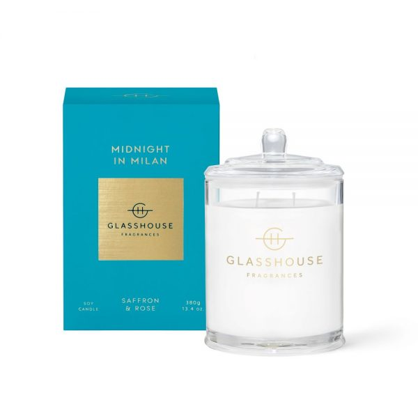 Midnight in Milan Soy Candle 380g