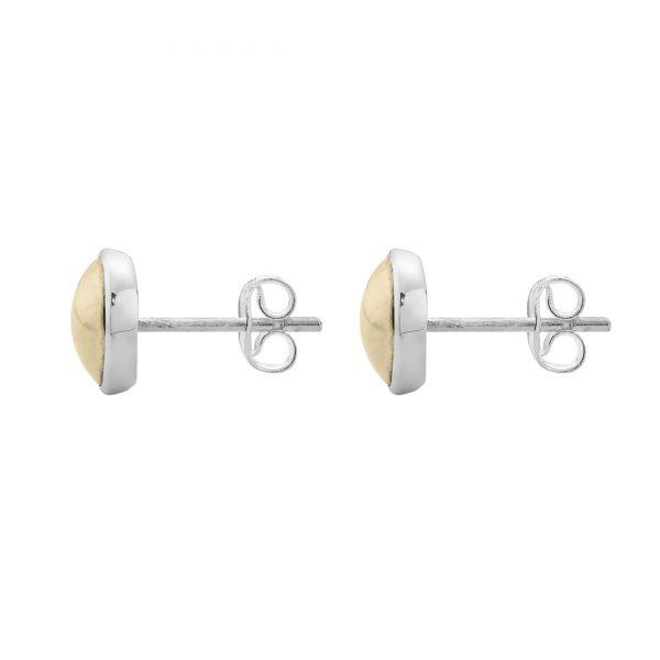 Najo Golden Glimmer Stud Earring