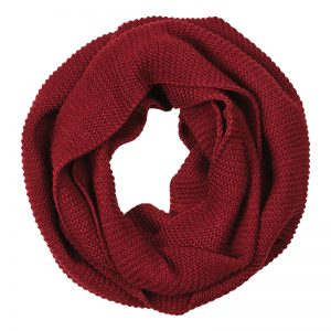 Grace Snood Plum The Kindred Co scarf
