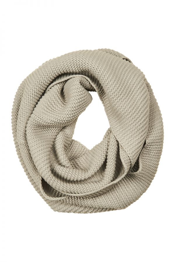 Grace Snood Putty The Kindred Co scarf
