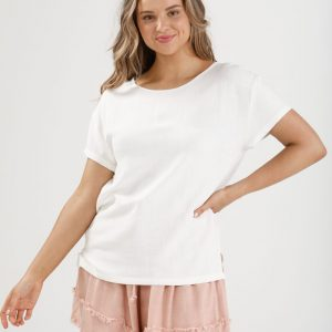 Homelove Fancy Free Tee White