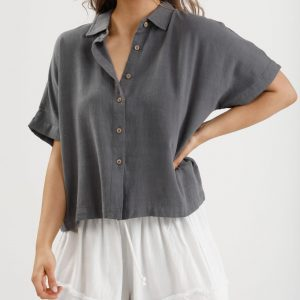 Homelove Chill Shirt Charcoal