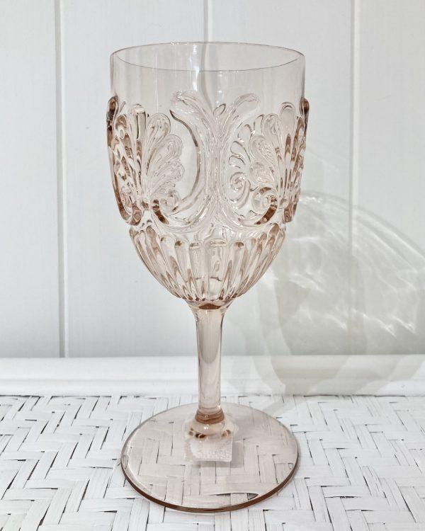 Acrylic Wine Glass - Blush
