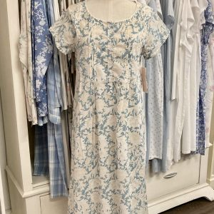 French Country Capped Sleeve Nightie French Toille