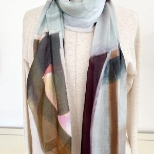 Like the River scarf from The Artists Label