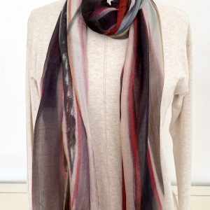His Eyes Lingered scarf by The Artists Label