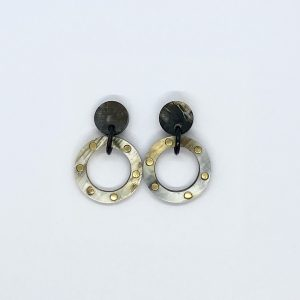 Circle Stud Fashion Earrings