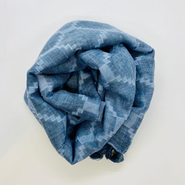 Diamond Scarf Blue