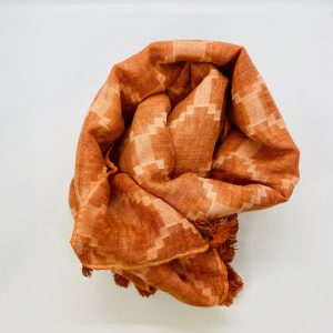 Diamond Scarf - Burnt Orange