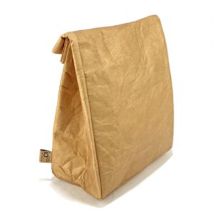 IOco Old School Insulated Lunch Bag Brown