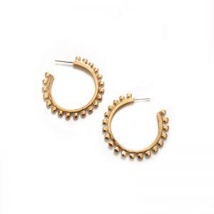 Zoda Isha Gold Earring