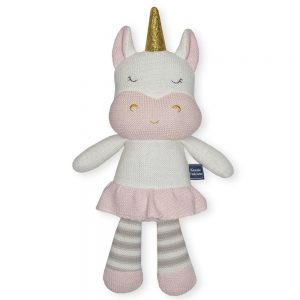 Living Textiles Soft Toy Kenzie Unicorn