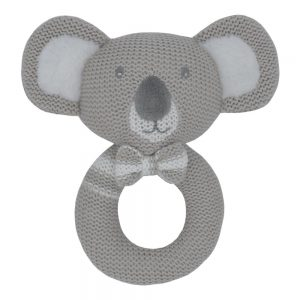 soft knitted rattle toy kevin the koala central coast nsw
