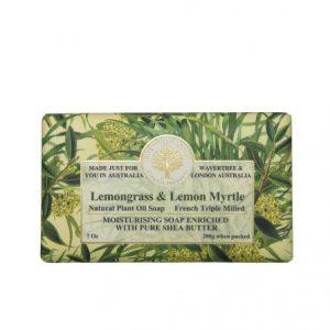 Lemongrass & Lemon Myrtle Soap
