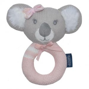 Living Textiles Chloe The Koala Rattle