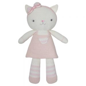 Living Textiles Daisy The Cat Soft Toy