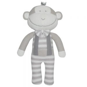 Living Textiles Max The Monkey Soft Toy
