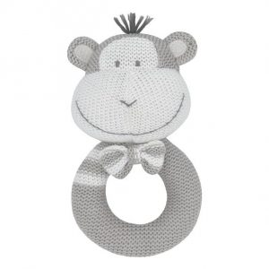 Living Textiles Max The Monkey Rattle