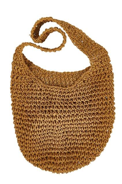 Messenger Bag Natural Shopper