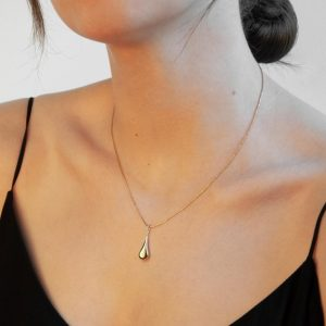 Najo My Silent Tears Gold Necklace