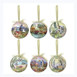 La La Land Nature Dwellings Bauble Set Christmas