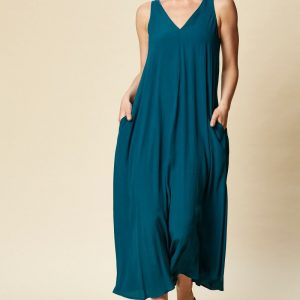 eb & ive Ohana Maxi Dress teal East Gosford ladieswear summer dresses