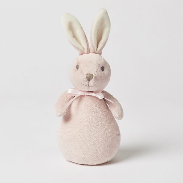 Pink Bunny Tinker Rattle Toy