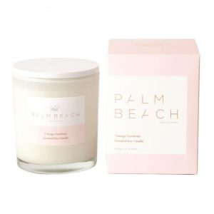 Palm Beach candle soy candle Australian made candle Vintage Gardenia spring summer scent
