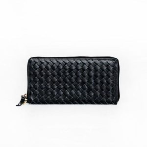 The Scarf Company Peggy wallet black leather