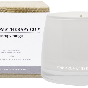 The Aromatherapy Co Relax Candle Lavender & Clary Sage