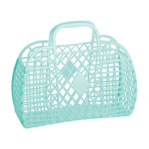 Sun Jellies Retro Basket Mint